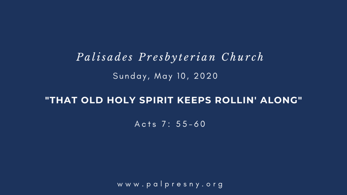 That Old Holy Spirit Keeps Rollin' Along
