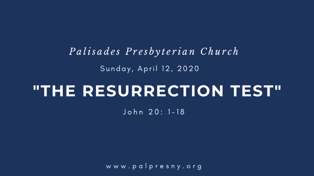 The Resurrection Test