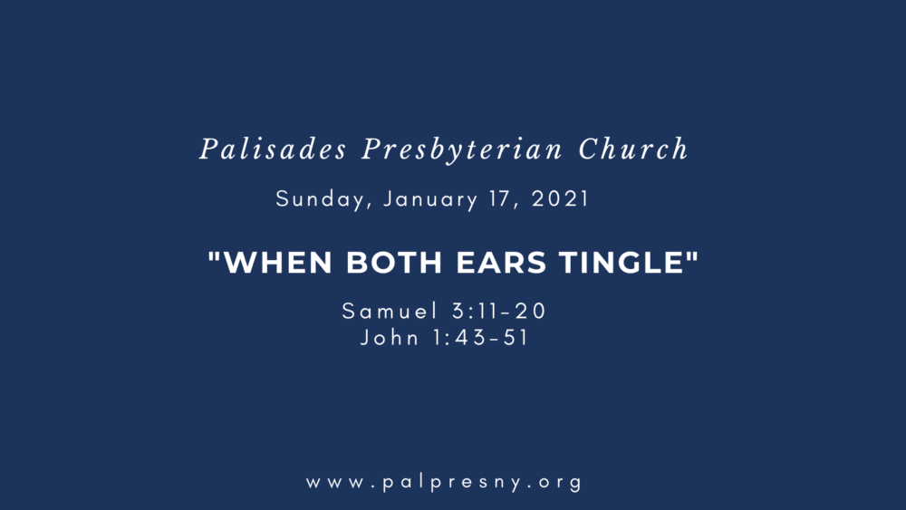 When Both Ears Tingle