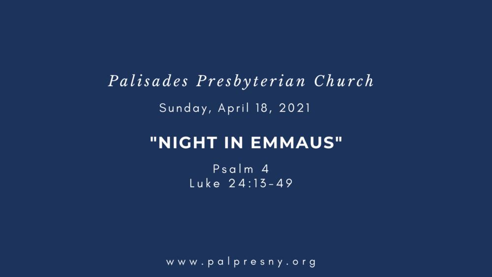 Night in Emmaus