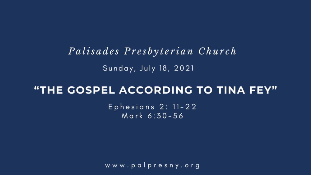 The Gospel According to Tina Fey