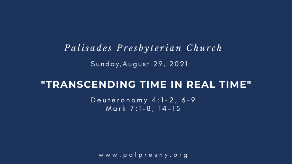Transcending Time in Real Time